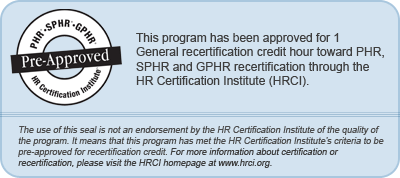 HR Certification Seal