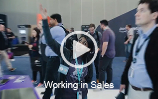 working in sales