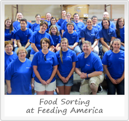 Sorting Food at Feeding America